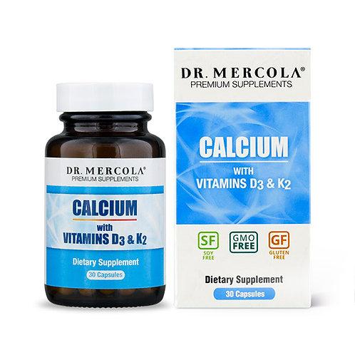 Dr. Mercola Calcium w/ Vitamins D3 & K2