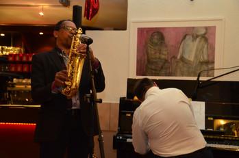 action sax solo