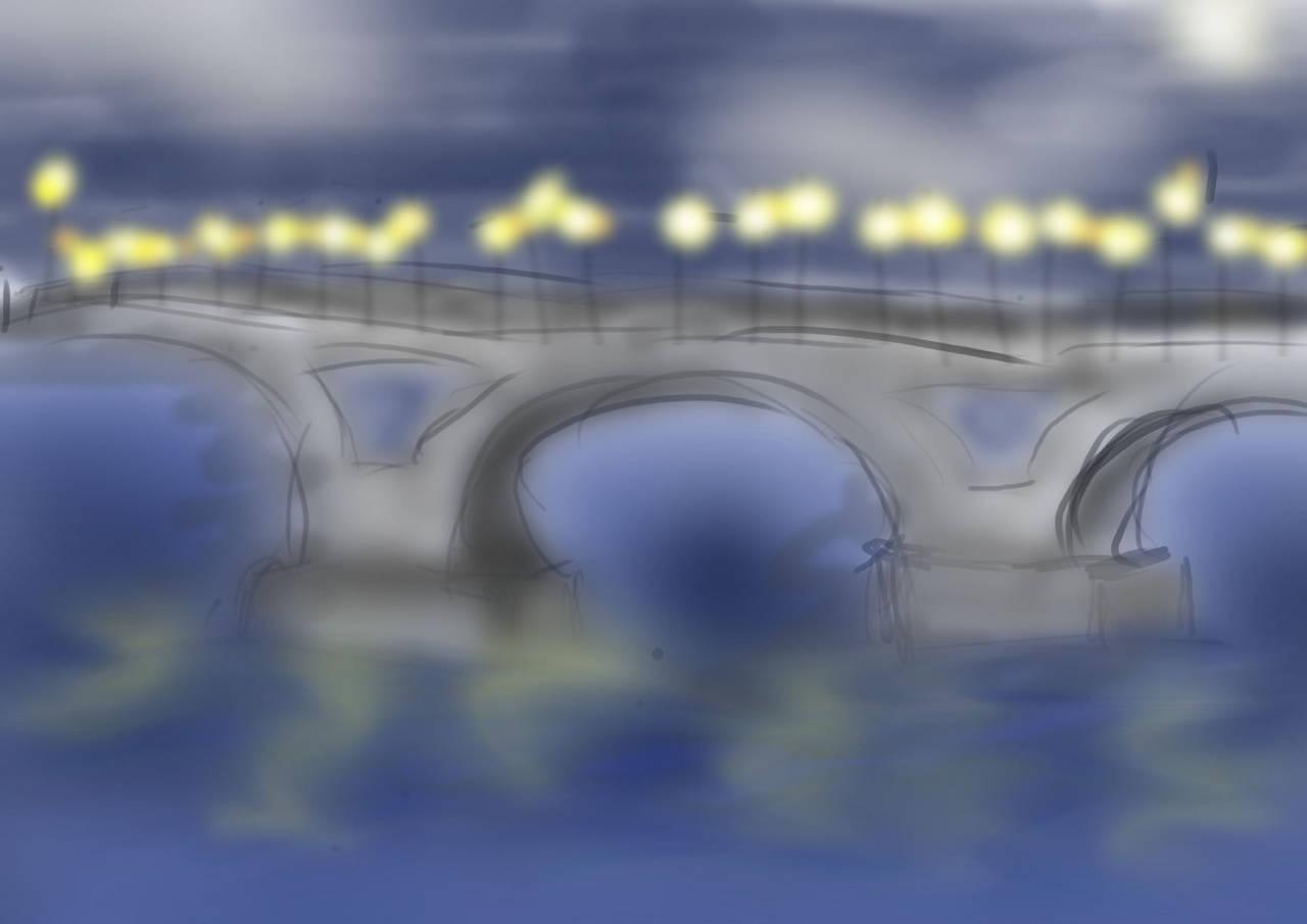 Саратовский мост. Семенченко Елизавета,