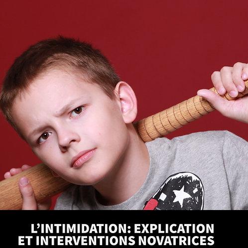 L'intimidation: explication et interventions novatrices