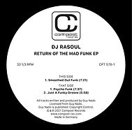 DJ Rasoul - Return Of The Mad Funk EP