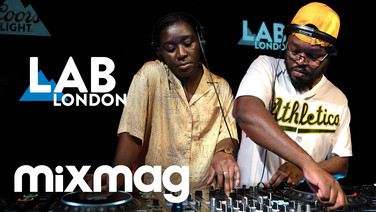 Sef Kombo + Kitty Amor afro house set in the Lab LDN