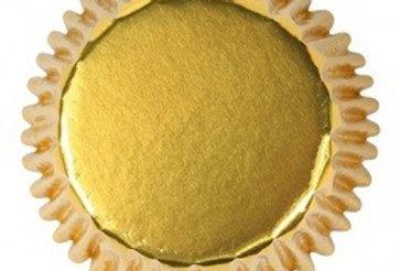 Foil Baking Cases - Gold