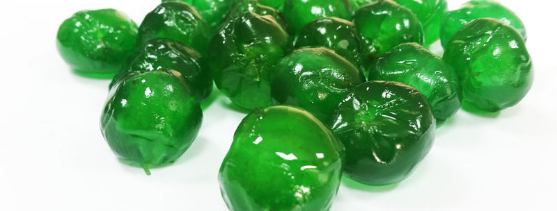 Green Glacé Cherries