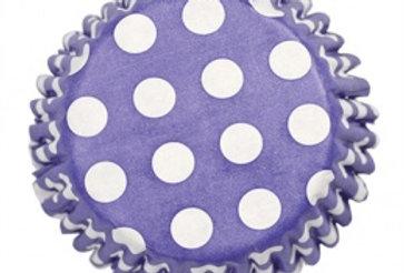 Baking Cases - Spotty Blue