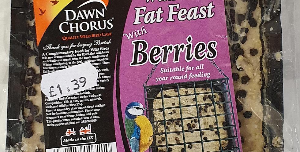 Wild Bird Fat Blocks with Berries