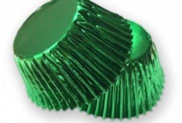 Foil Baking Cases - Green