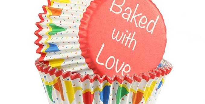 Baking Cases - Bunting