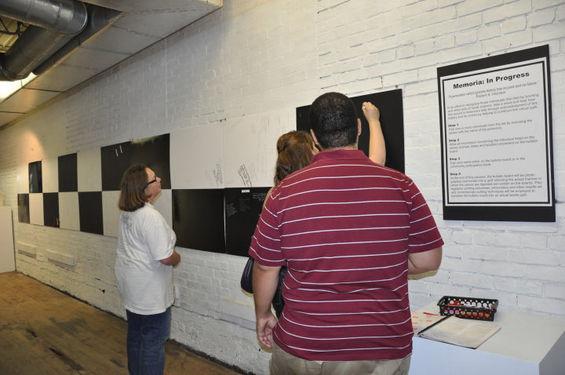 Memoria In Progress at Big Car Gallery.j