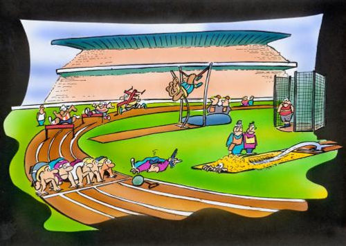 Picture Of Track And Field Events