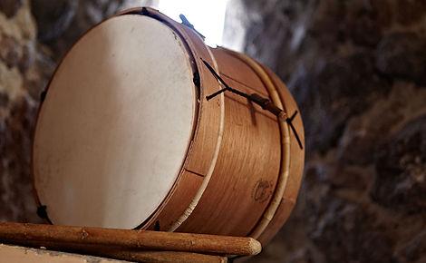 Traditional instruments of Santorini