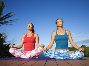 From anxiety to calm with yoga: One breath at a time.