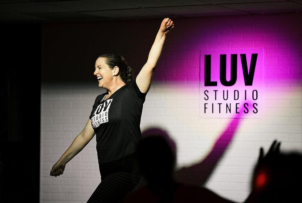 LUV STUDIO FITNESS Zumba Pound Pilates B