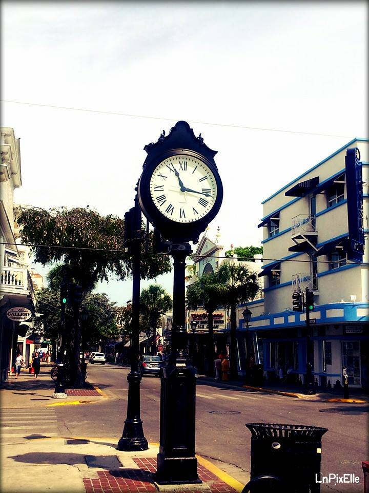 Time at Key West - avril 2014