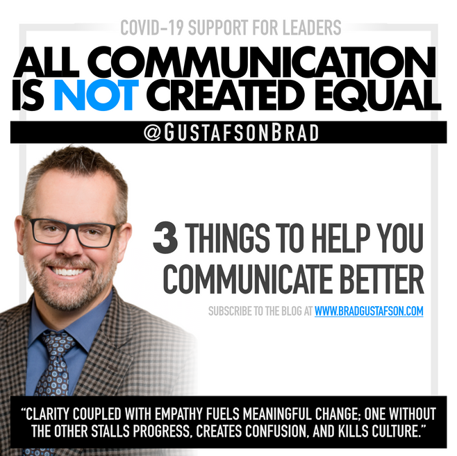 All Communication is Not Created Equal