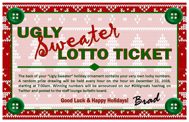 Ugly Sweater Lotto