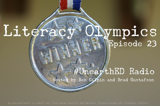 What if we had a Literacy Olympics?!