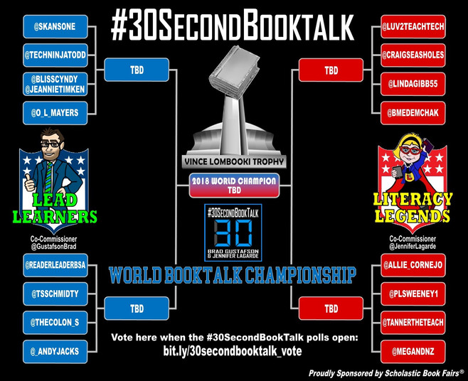 The World Booktalk Championship is Back!