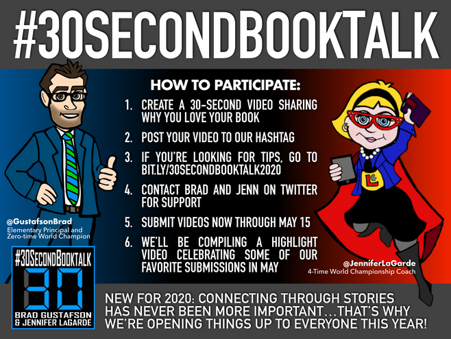 30-Second BookTalk is BACK!