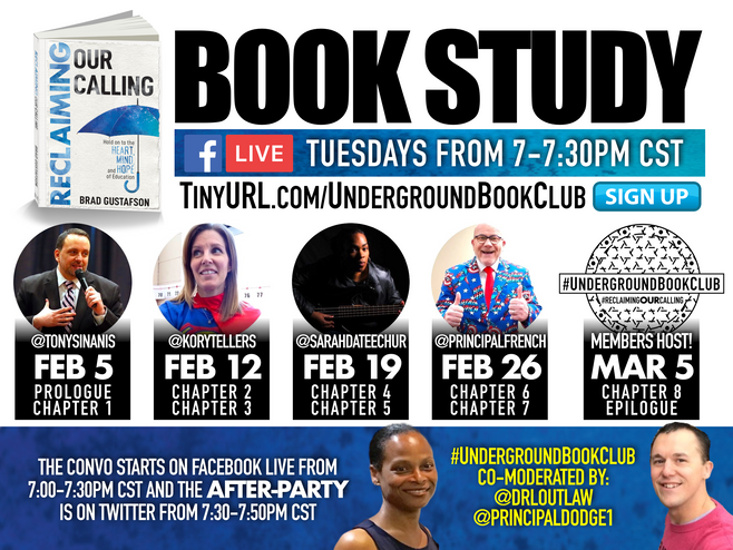 #UndergroundBookClub Book Study Starting February 5th