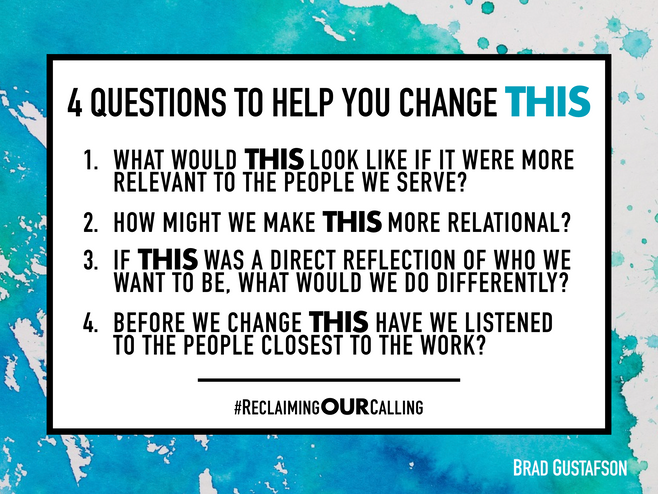 4 Questions to Help You Change THIS