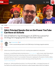 Q&A: Principal Speaks Out on the Power YouTube Can Have on Schools