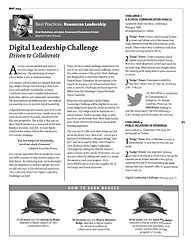 Digital Leadership Challenge: Driven to Collaborate