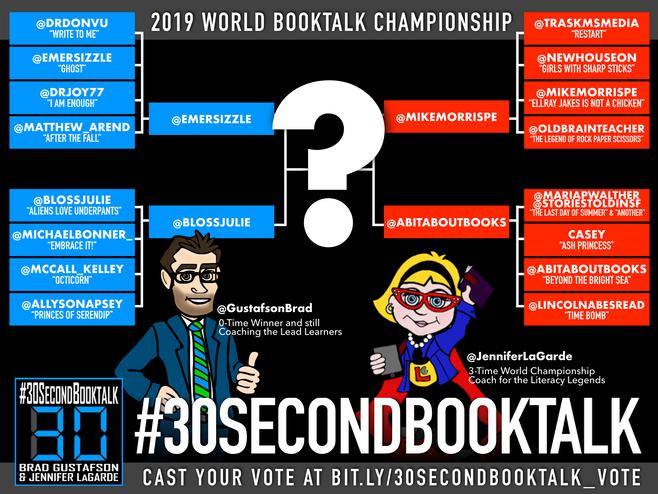 30 Second BookTalk Championship Round (Video)