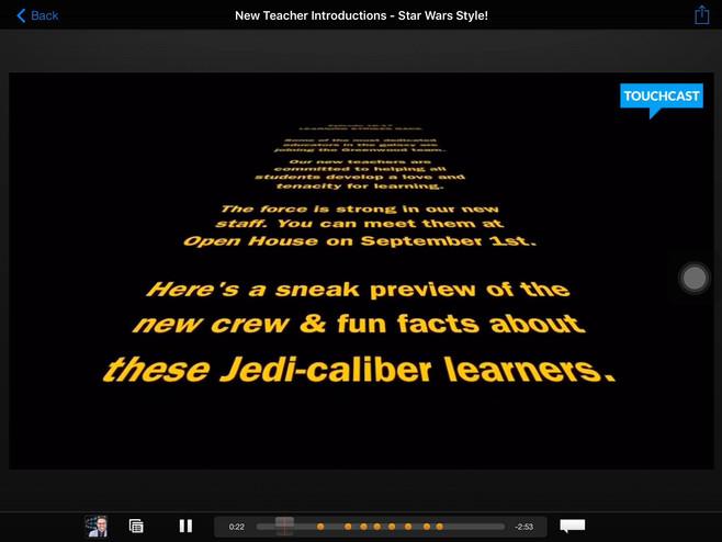 New Teacher (Star Wars) Intro