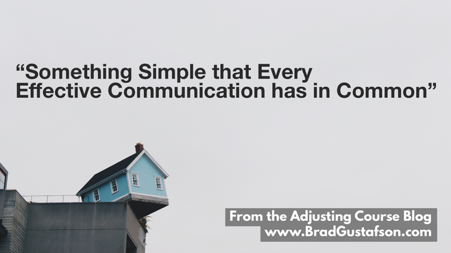 Something Simple that Every Effective Communication has in Common