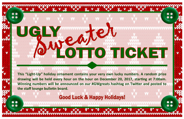 Ugly Sweater Lotto is Back!