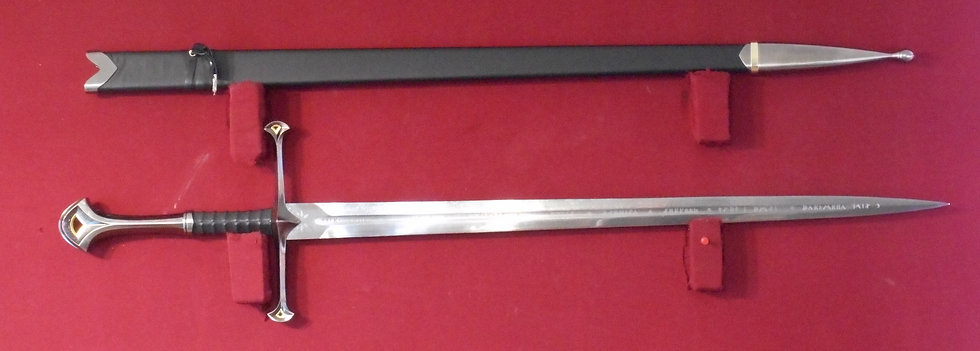Aragorn's Anduril style sword Lord of the Rings