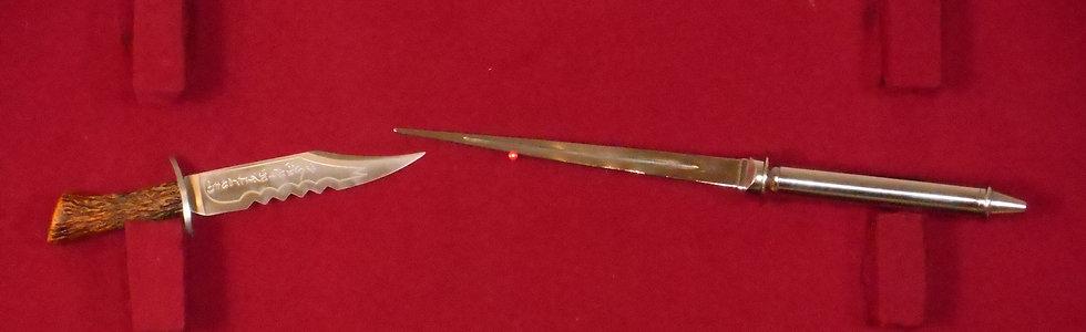 supernatural style angel blade and demon killing knife