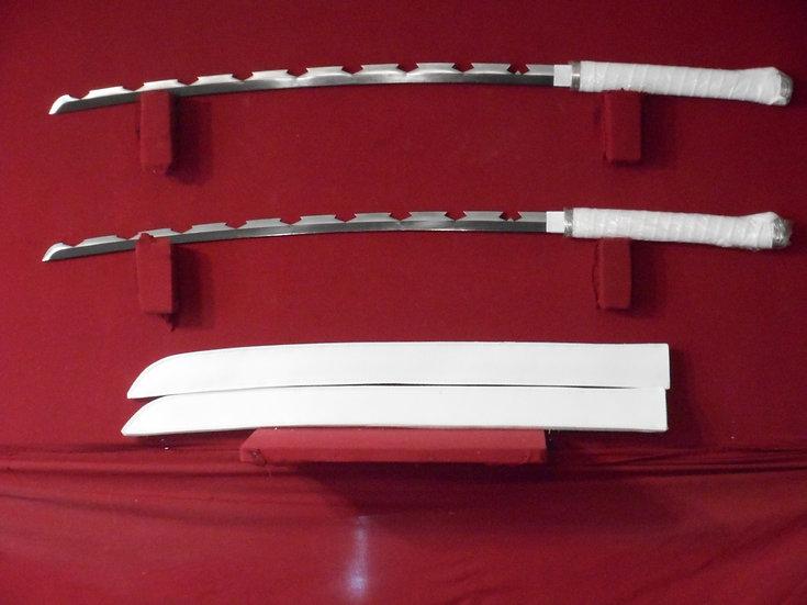 Demon Slayer Hashibira Inosuke style sword set