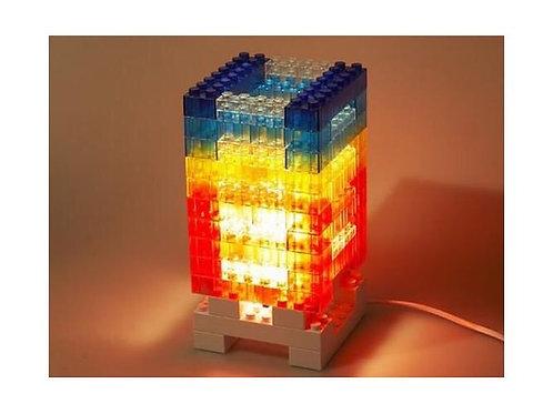 DIY Lego Block Lámpara