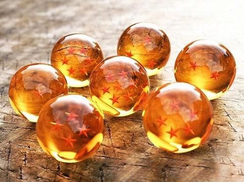 DragónBall Z Esferas 4.2cm diametro Set 7pz