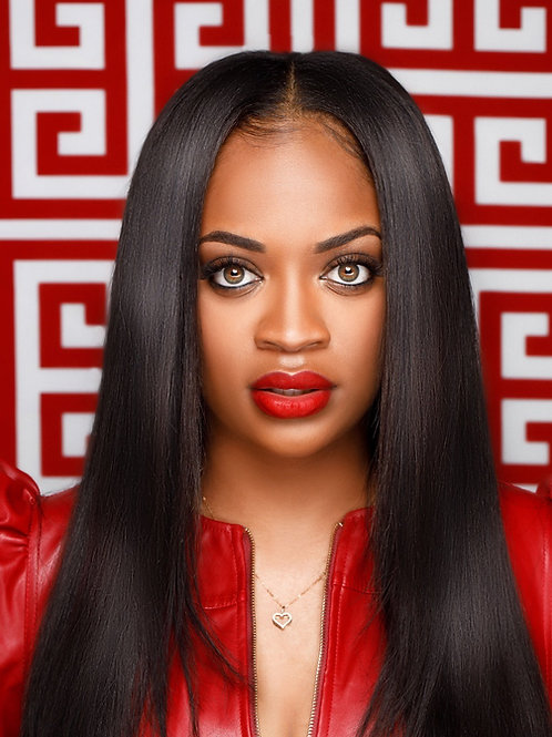 Transparent 5X5 Lace Closure Wig