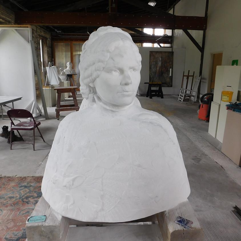 Poet Julia Dorr Sculpture Unveiling