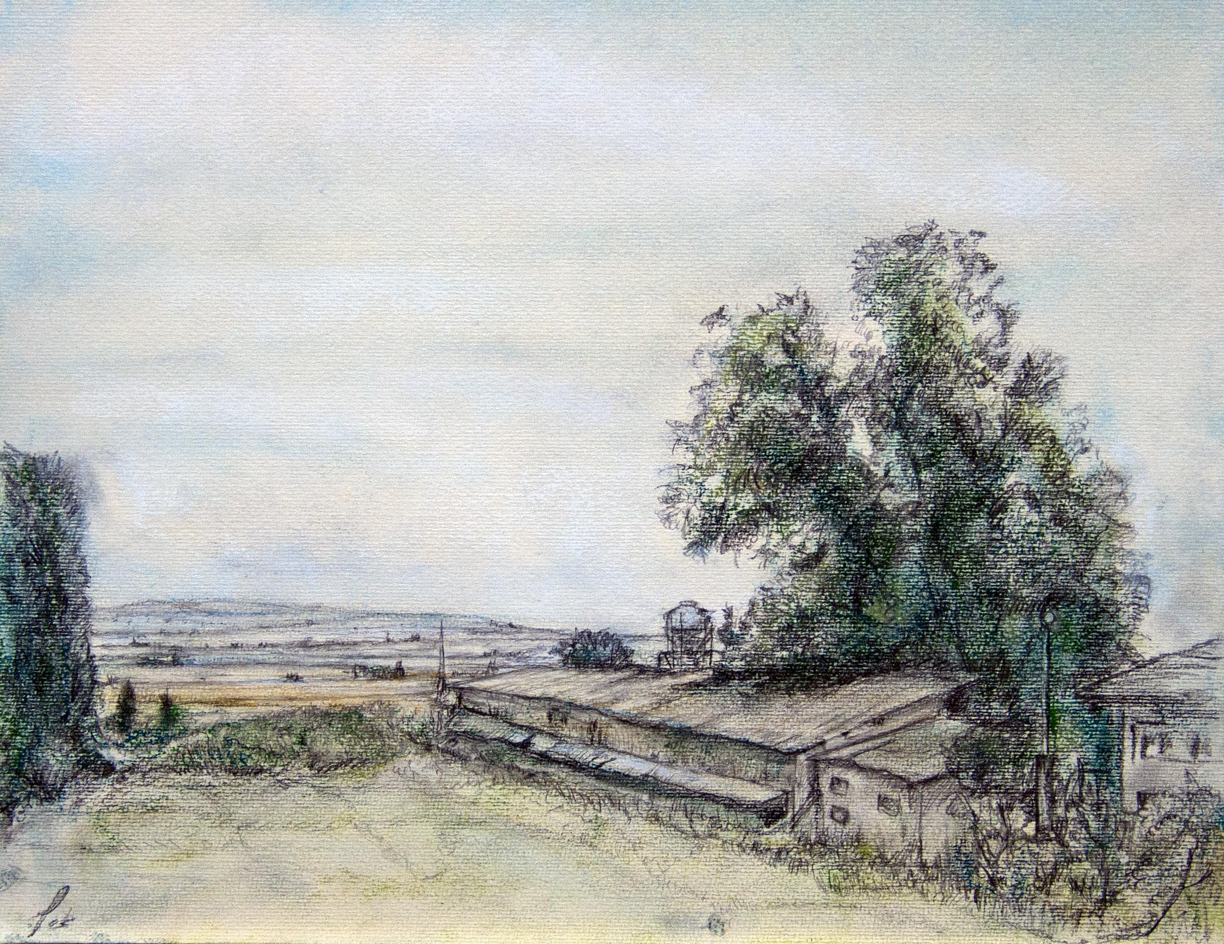 יוקנעם, מבט אל העמק