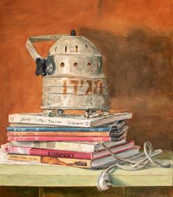 טבע דומם עם ספרים