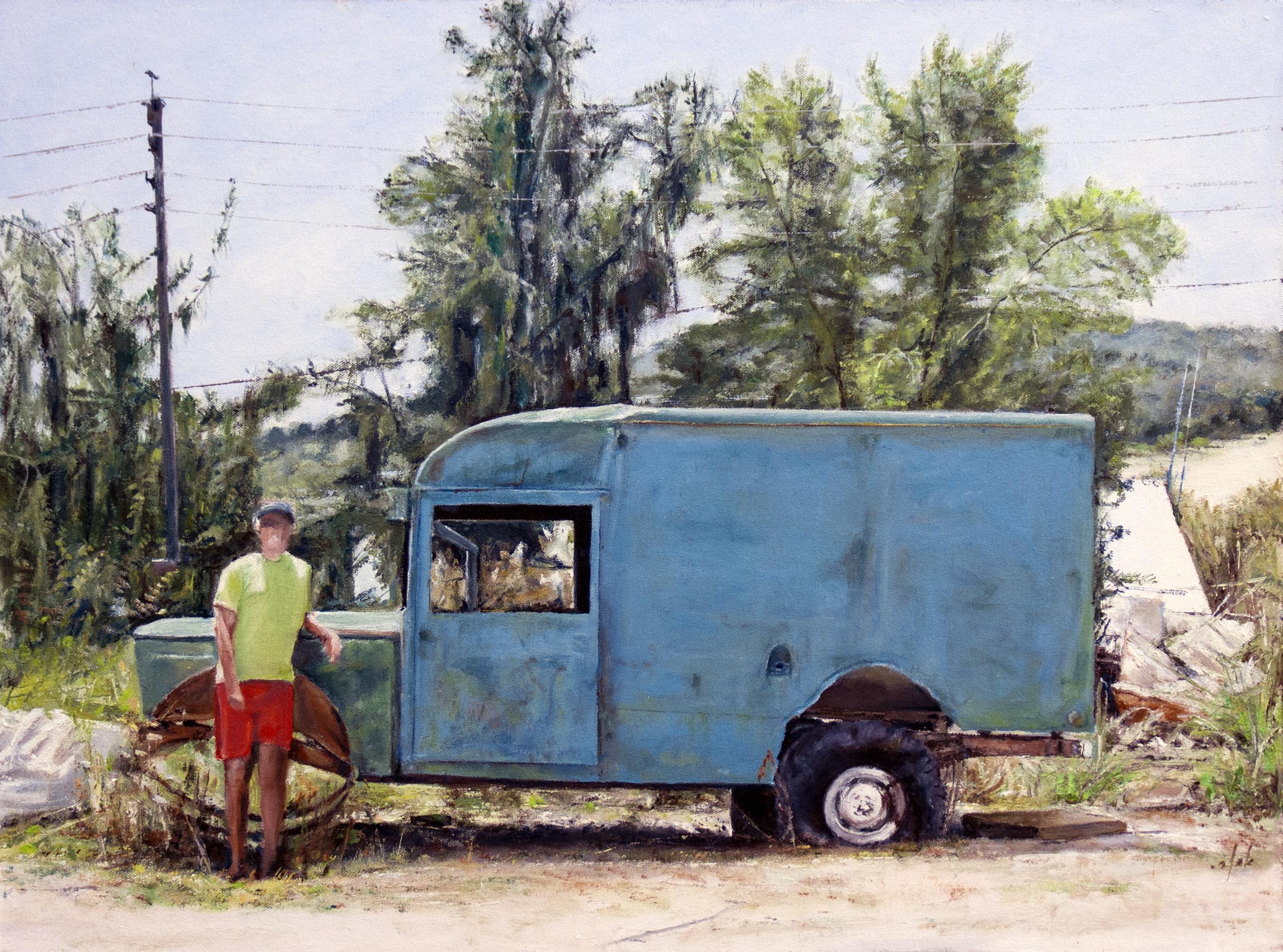 67X50 רכב הצלה וצייר