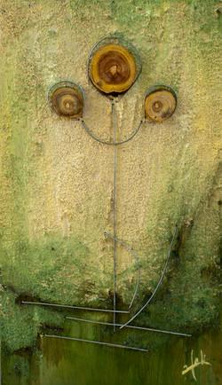 אומנות בעץ   צמח 2
