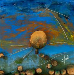 אומנות בעץ   נוף עצים-ב