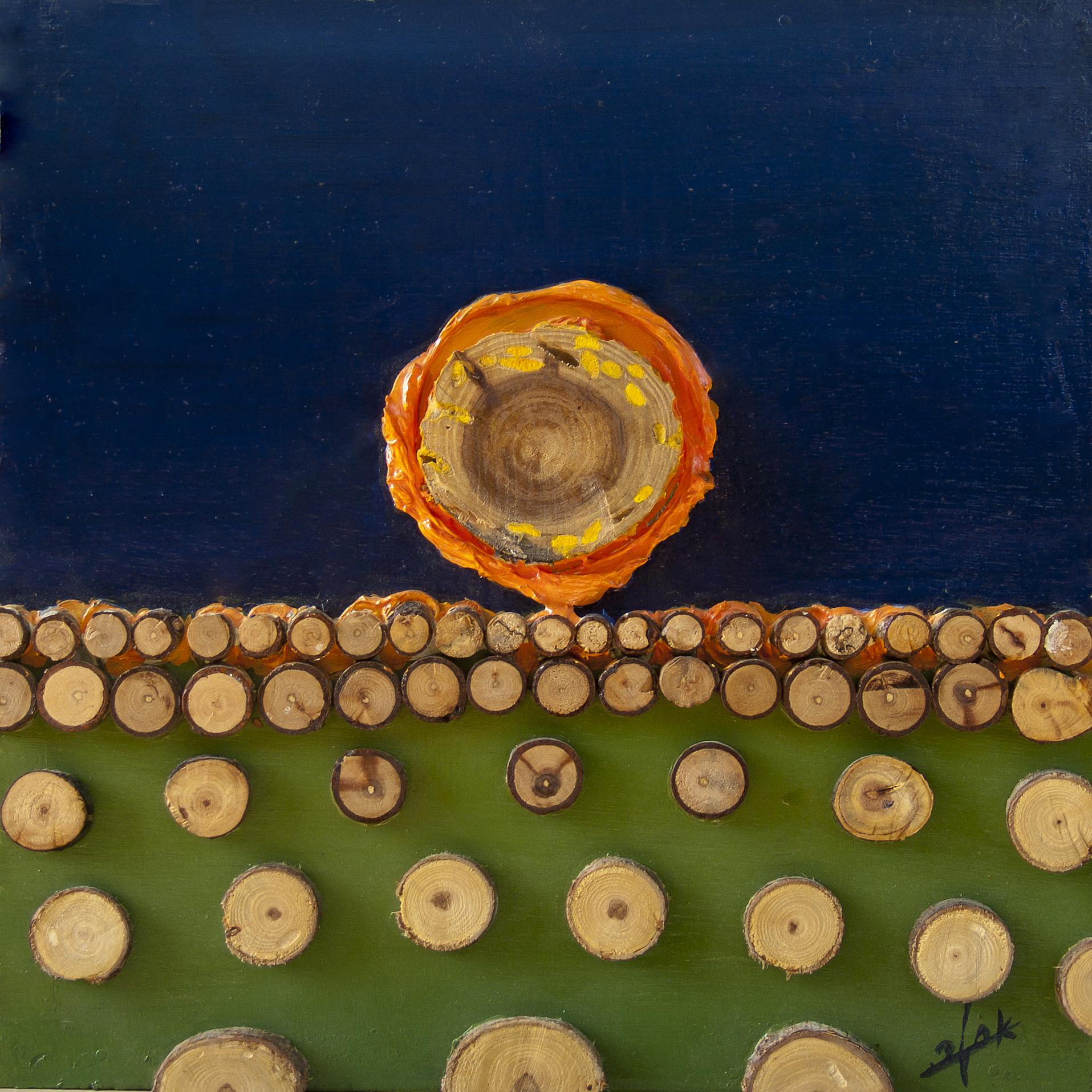 אומנות בעץ | שקיעה