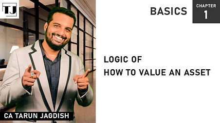 How to value an Asset