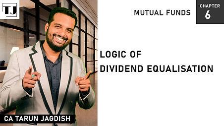Logic of Dividend Equalisation
