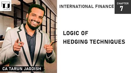 Hedging Techniques