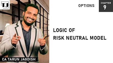 Risk Neutral Model- Option valuation model