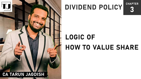 How to value share