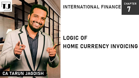 Home Currency invoicing